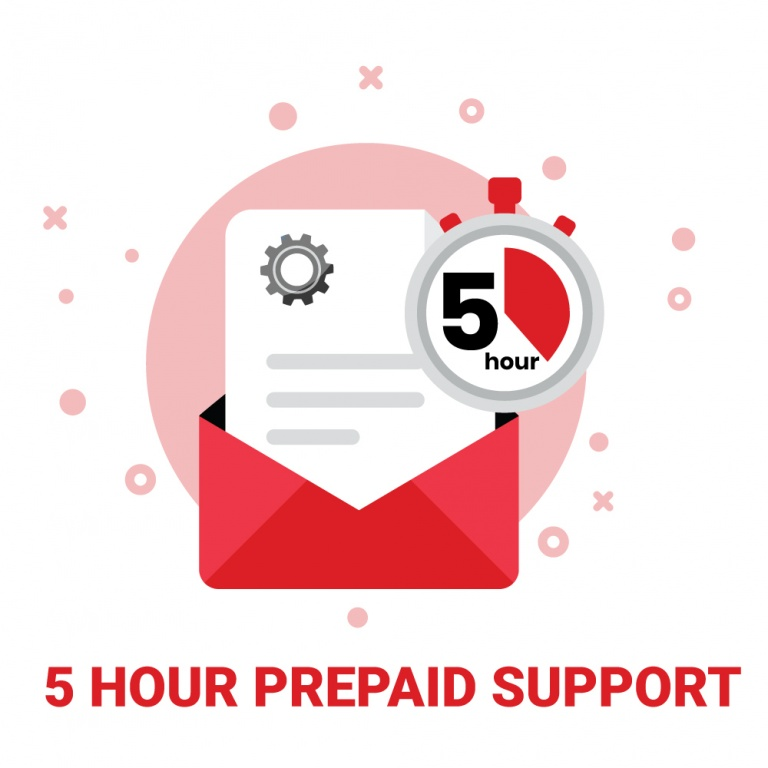 5 Hour Pre-Paid Support
